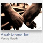 Walk to Remember Greeting Cards