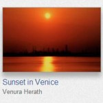 Sunset at Venice